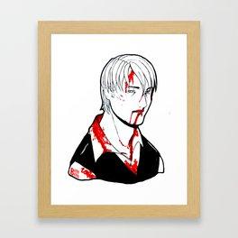 Goretober #23 - Slow and Steady Framed Art Print