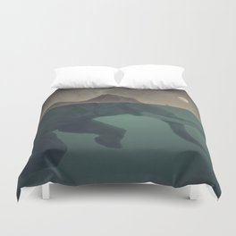 Elephant mountain Duvet Cover
