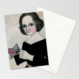 Mary Shelley and the Monster Stationery Cards