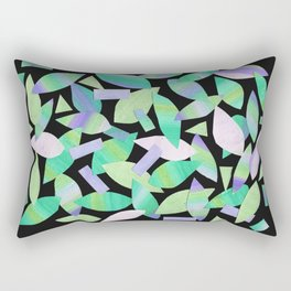 Leaf Litter (dark) Rectangular Pillow