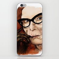 coven iPhone & iPod Skins featuring Myrtle Snow || Don't be a hater, dear (from American Horror Story: Coven) by PandaToyz