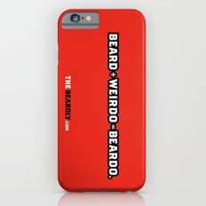 BEARD + WEIRDO = BEARDO. iPhone 6s Slim Case