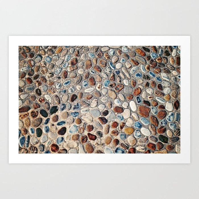 Pebble Rock Flooring II Kunstdrucke