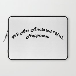Inspirational Anointed Verses Laptop Sleeve