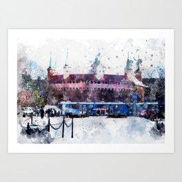 Cracow art 28 #cracow #krakow #city Art Print