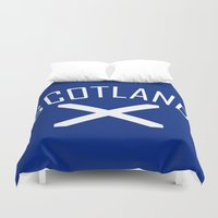 scotland Duvet Covers featuring Scotland by Earl of Grey