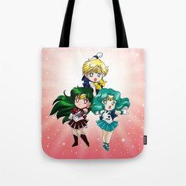 Outer Senshi - Chibi edit. Tote Bag