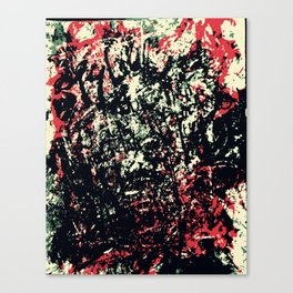 We Got Messed Up Canvas Print
