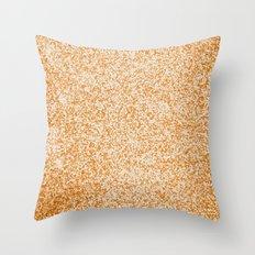 Metallic (Gold) Throw Pillow
