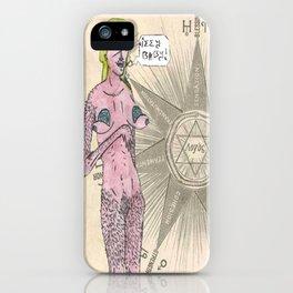 Gnostic Nudity iPhone Case