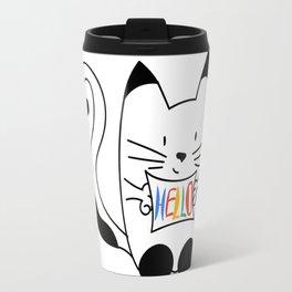 HELLO - CAT Travel Mug
