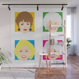 The Golden Girls, Betty White, Bea Arthur, Rue McClanahan, Estelle Getty Wall Mural