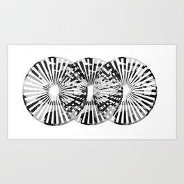 Abstract Circle II Art Print