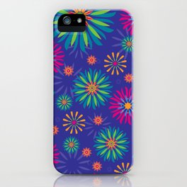 Psychoflower Violet iPhone Case