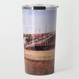Vintage Great Lakes Freighter Travel Mug