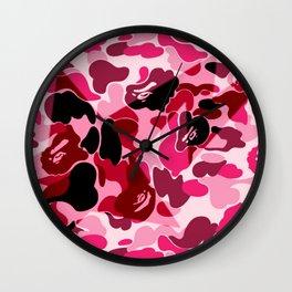 Bape x Bapesta Wall Clock