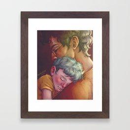 Sleep well Framed Art Print