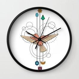 Beauty Bird Wall Clock