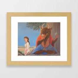 Ferdinand the Minotaur - 1st version Framed Art Print