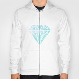 Diamond watercolour Hoody