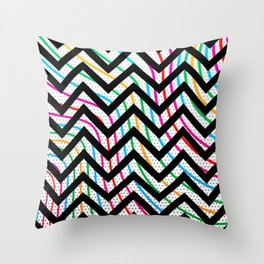 COLO(U)RS Throw Pillow