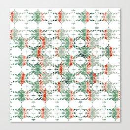 estrela_turqouise&red_no2 Canvas Print