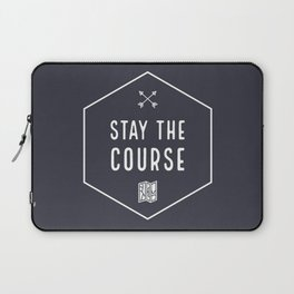 Stay the Course Laptop Sleeve