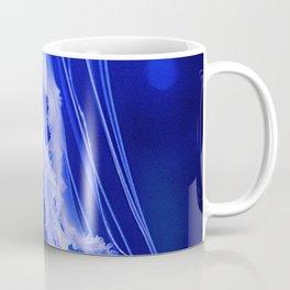 Blue Jellyfish (Color) Coffee Mug