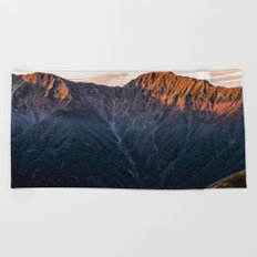 Southern Alps II Beach Towel