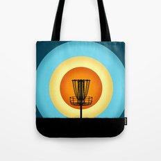 Colorful Disc Golf Basket Tote Bag