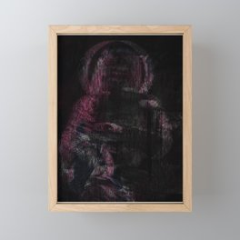 Mother (pink variant) Framed Mini Art Print