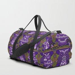 A Parliament of Owls Plum Duffle Bag