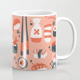 Sushi Dreams – Coral Coffee Mug