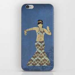 Belly dancer 4 iPhone Skin
