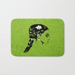 Lady of the Vine Bath Mat