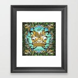 Royal Horse & Leo - animalprint Framed Art Print
