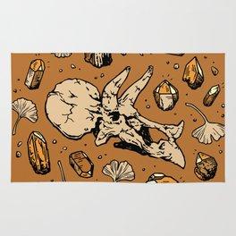 Triceratops Rocks! | Citrine Quartz Rug