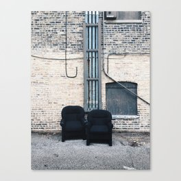 Pair of Chairs Canvas Print