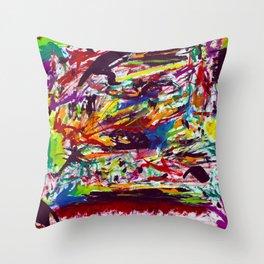 Typhoon Saling (1985) Throw Pillow