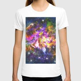 space universe unicorn T-shirt