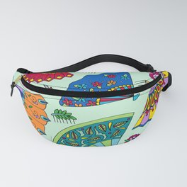 Colorful Fans Fanny Pack