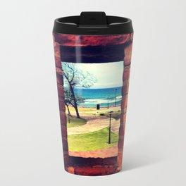 Framing Paradise Metal Travel Mug