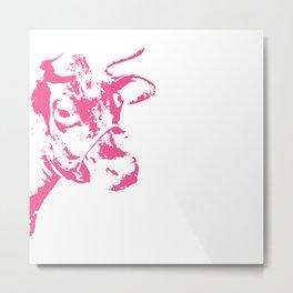 Follow the Herd - Pink #700 Metal Print