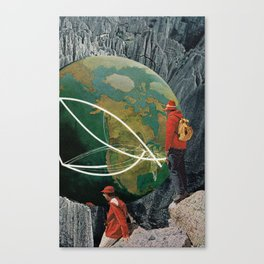 Purvey Canvas Print