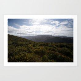 Baja: The Mountains of La Bocana Art Print