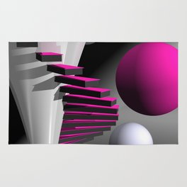 go pink -12- Rug