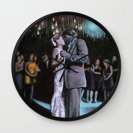 Kelley and Ryan's Wedding Wall Clock