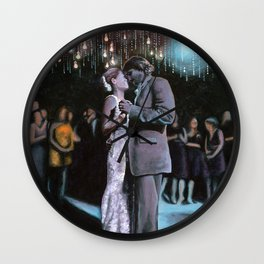 Kelley and Ryan's Wedding Wall Clock