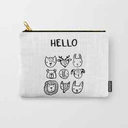 Say Hello Carry-All Pouch