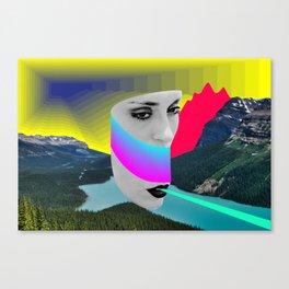 landscape of colors Canvas Print